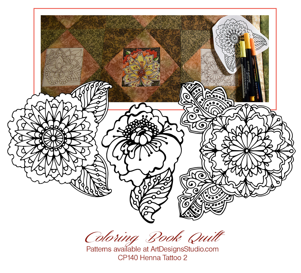 Coloring Book Quilt