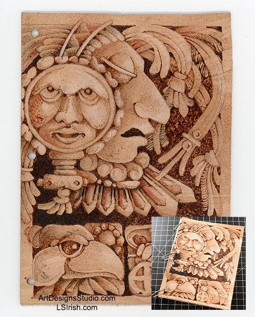 Mayan Carving Patterns
